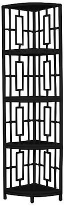 David Francis Furniture Tinley Etagere - Black