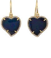 Irene Neuwirth Women's Heart-Shaped Drop Earrings