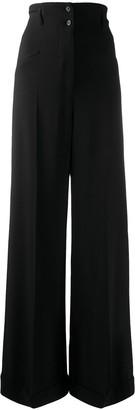 Racil High-Waisted Trousers
