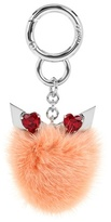 Fendi Valentine's Day fur bag charm