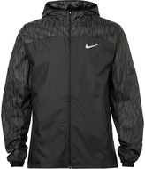 Nike Running Panelled Ripstop Shell Jacket