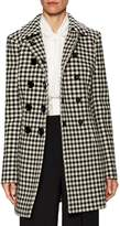 Dolce & Gabbana Women's Houndstooth Double-Breasted Coat