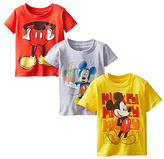 Freeze Mickey Mouse Yellow Tee Set - Toddler & Boys
