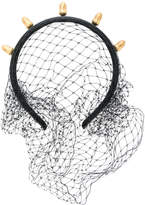 RED Valentino acorn detail net hairband