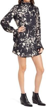 Free People Aries Floral Mini Dress