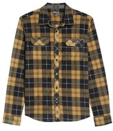 O'Neill Men's Glacier Plaid Fleece Flannel Shirt