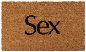 More Joy SSENSE Exclusive Brown Sex Door Mat