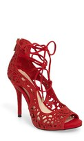 Jessica Simpson Women's Briony Perforated Ghillie Sandal