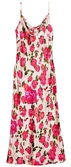 L'Agence Nyla Printed Slip Dress