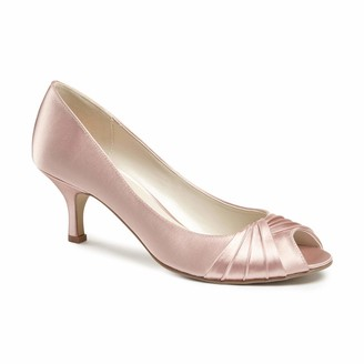 Paradox London Pink Women's Romantic Open-Toe Heels