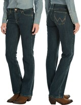 Wrangler Q-Baby Jeans - Mid Rise, Bootcut (For Women)