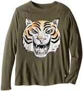 Stella McCartney Max Tiger Graphic Raglan T-Shirt Boy's T Shirt
