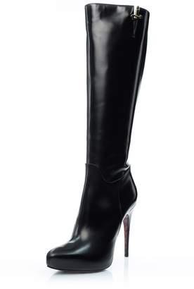 Cesare Paciotti Tall Black Boot