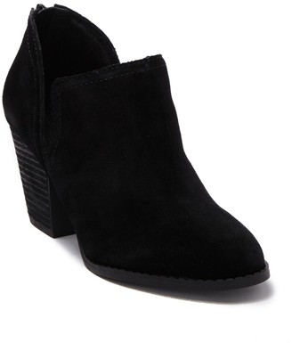 Carlos by Carlos Santana Carmin Leather Block Heel Ankle Boot