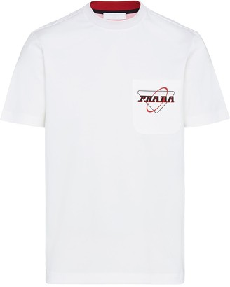 Prada stretch logo T-shirt