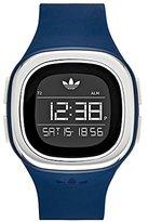 adidas Women's 'Denver' Quartz Plastic and Silicone Casual Watch, Color:Blue (Model: ADH3139)