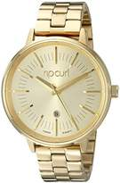 Rip Curl Women's A2841G-GOL Lindsay Analog Display Analog Quartz Gold Watch