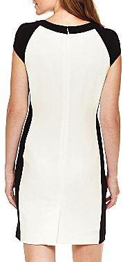 JCPenney Worthington® Colorblock Sheath Dress