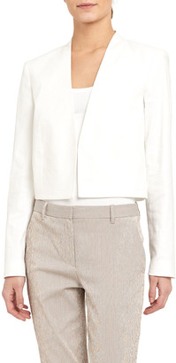 Theory Collarless Cropped Jacket
