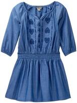 Lucky Brand Amanda Smocked Waist Denim Dress (Toddler Girls)