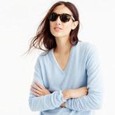 J.Crew Italian cashmere boyfriend V-neck sweater