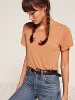 Reformation Flax Relaxed Crew Tee Women's T-shirt