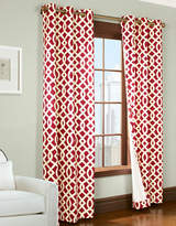 Commonwealth Home Fashions Trellis Printed Curtain Panel