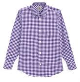 Boy's Jb Jr Check Dress Shirt