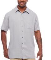 THE FOUNDRY SUPPLY CO. The Foundry Big & Tall Supply Co. Button-Front Shirt-Big and Tall