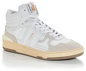 Lanvin Men's Tennis High Top Sneakers