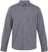 A.P.C. Trek checked cotton shirt