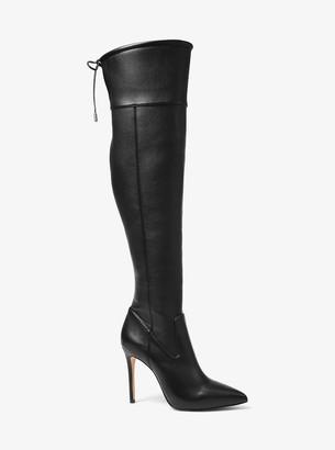 MICHAEL Michael Kors Jamie Stretch Over-The-Knee Stiletto Boot