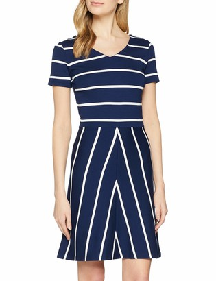Gant Women's O2. Striped Flared Dress