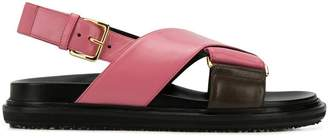 Marni Fussbett cross-over sandals