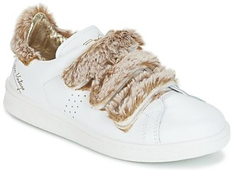 Ippon Vintage FLIGHT POLAR women's Shoes (Trainers) in White