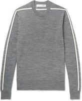 Comme Des Garçons Shirt - Striped Wool Sweater