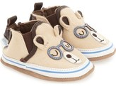 Robeez 'Brainy Bear' Crib Shoe (Baby & Walker)