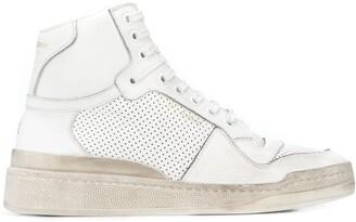 Saint Laurent Lenny high-top sneakers