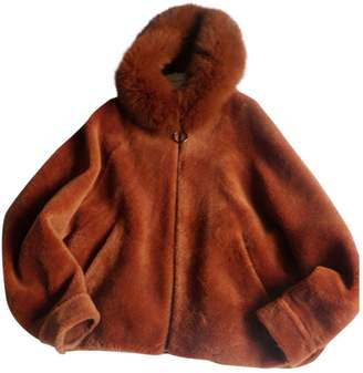 Gerard Darel \N Orange Shearling Jacket for Women