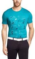 HUGO BOSS Men's Short Sleeve Cotton T-shirt 'Tee 9'