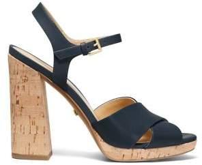 MICHAEL Michael Kors Alexia Leather Sandals