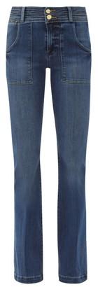 Frame Le High Flared Jeans - Denim