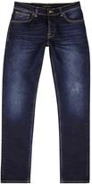 Nudie Jeans Grim Tim Indigo Slim-leg Jeans