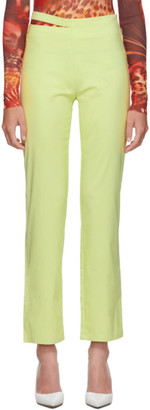 Maeve Miaou Yellow Trousers