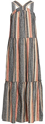 Joie Rosabel Striped Maxi Dress