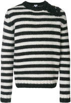 Loewe striped button-embellished sweater