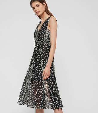 AllSaints Macella Scatter Dress