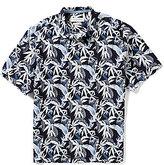 Tommy Bahama Short-Sleeve Conoa Garden Palm Floral Print Woven Shirt