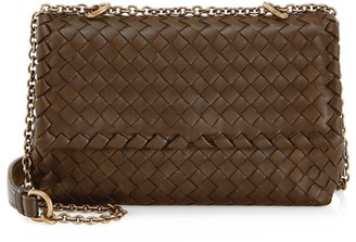 Bottega Veneta Baby Olimpia Leather Shoulder Bag