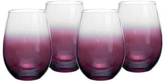 Spode Kingsley Stemless Wine Glasses Set of 4